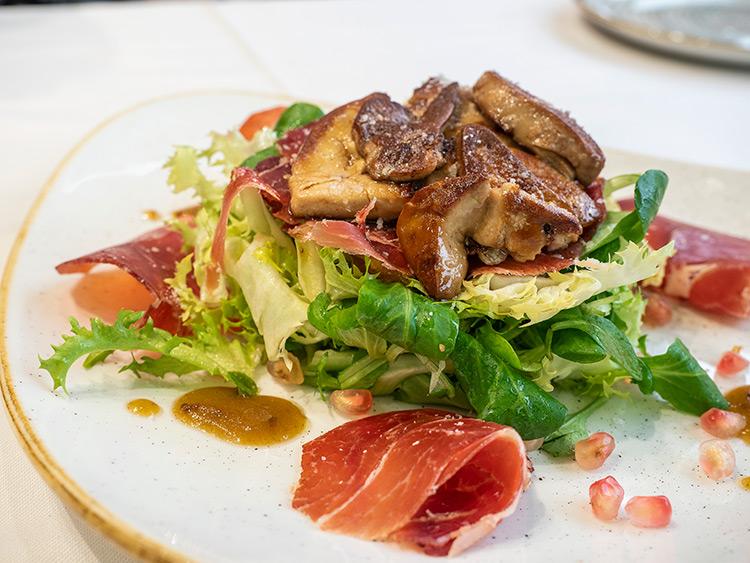 restaurante-el-rececho-alcorcon-madrid-ensalada-foie